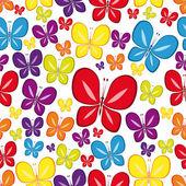 Vector Seamless Multicolor Wallpaper. — Stock Vector
