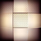 Streszczenie tło z karbowany tekstura metalowe. — Wektor stockowy
