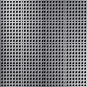 Round cell metal background. — Vector de stock