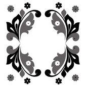 ビンテージ花のデザイン — ストックベクタ