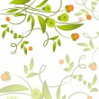 Royalty-Free Stock Vector Image: Floral background