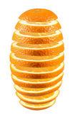 新鮮なスライスされたオレンジ色. — ストック写真