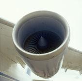 Motore aeronautico. — Foto Stock