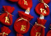 Detail of advent calendar — Stock Photo