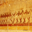 Stock Photo: Relief from Hathepsut mortuary temple