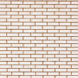 Beige colored fine brick wall texture background - Stock Photo