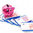Stock Photo: Piggybank