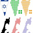 Vector de stock : Israel