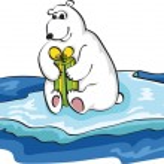 Polar White Bear — Stock Vector #3934612