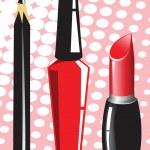 Cosmetics set — Stock Vector