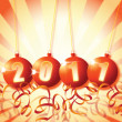 Royalty-Free Stock Photo: New Year 2011