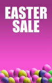 Easter Sale Poster — Stock Photo