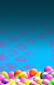 Easter Themed Background — Stock Photo