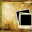 Polaroid frame on vintage background — Stock Photo #4253758