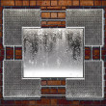 Metal plate steel background — Stock Photo
