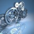 Stock Photo: Machine Gears