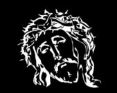 Jesus Christ image — Vector de stock
