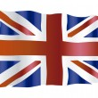 Royalty-Free Stock Vector Image: UK flag
