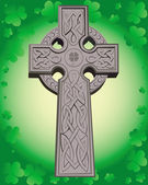 Celtic cross — Vector de stock