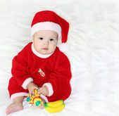 Small Santa Claus character of the new year — Stock Photo