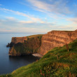 Sunset on the cliffs — Stock Photo