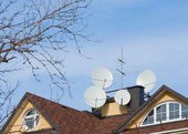 Antennas . — Stock Photo