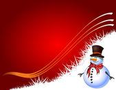 Noel hediye sayfa — Stok Vektör