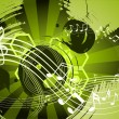 Music abstract background — Stockvectorbeeld