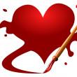 Valentine heart — Stock Vector #4134332