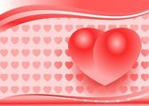 Fondo de san valentín — Vector de stock