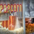 Stock Photo: Hot popcorn