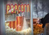 Hot popcorn — Stock Photo