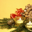 Stock Photo: Home christmas decoration