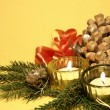 Home christmas decoration — Stock Photo
