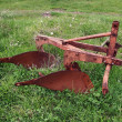Stock Photo: Old plough