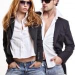 Fashion couple — Stock Photo #4655260
