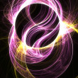 Swirling light - Stock Photo