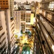 Sao Paulo at night — Stok fotoğraf