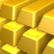 Bars of Gold — Stock Photo