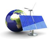 Alternative Energy - Europe — Stock Photo