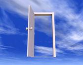 Puerta a la libertad — Foto de Stock