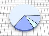 Pie graph — Stock Photo