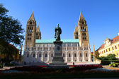 Cathedral in Pecs — Foto Stock