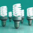 Energy Saver Light Bulbs — Stock Photo
