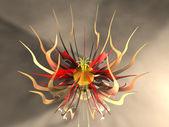 Metal Flower — Stock Photo
