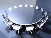 Round Table — Stock Photo