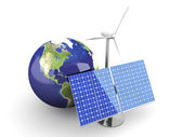Alternative Energy - USA — Stock Photo