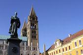 Catedral en pecs — Foto de Stock