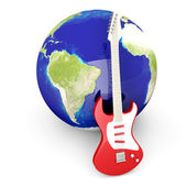 Global rock — Stock Photo