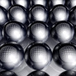 Spheres Background - Stok fotoraf